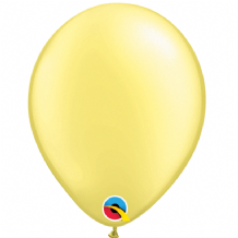 "Pearl Lemon 5 inch Balloons - Qualatex 5"" Balloons 100pcs"